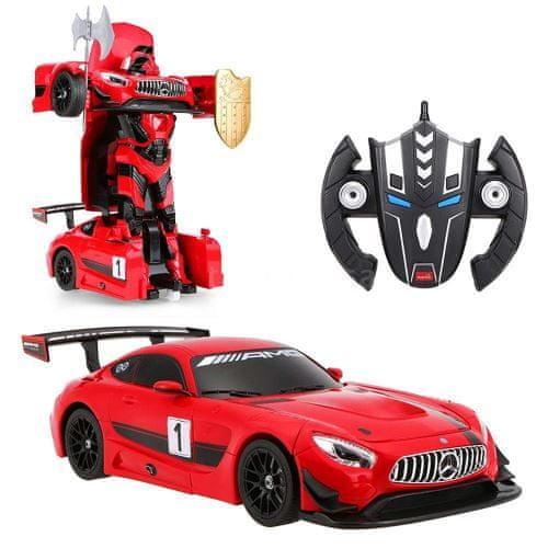 COIL Mercedes AMG GT3 Transforming Robot 1:14 RC Red dálkově ovládané auto