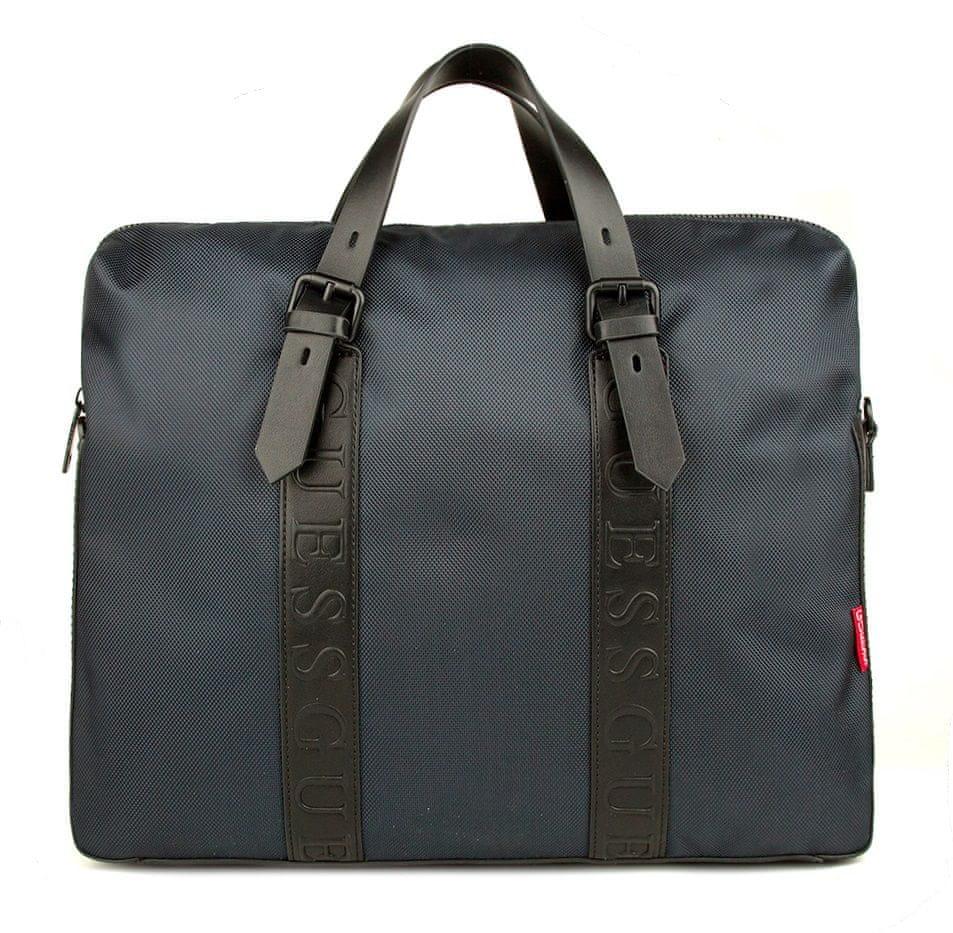 Guess pánská taška HMDNNY P0213 tmavě modrá