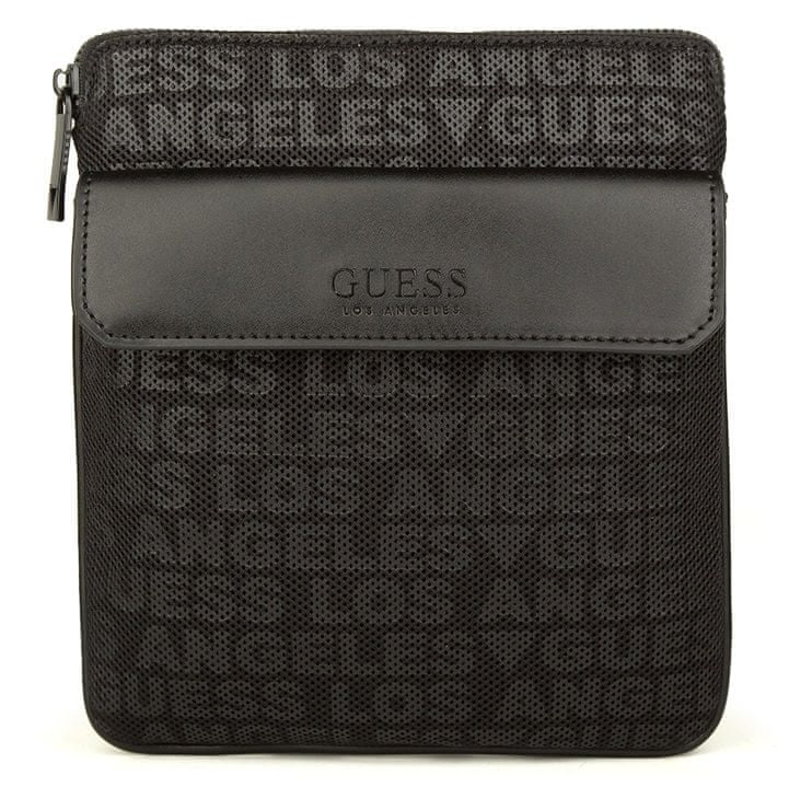 Guess pánská černá crossbody taška HMNEMT P0227