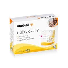 Medela Sterilizacijske vrečke za mikrovalovno pečico, 5pcs