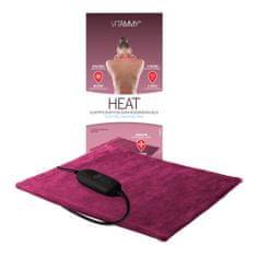 Vitammy HEAT Električna grelna ploščica, rdeče rdeča