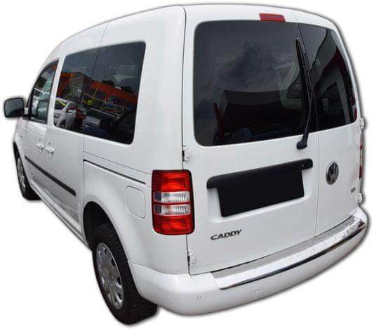 J&J Automotive Rozsdamentes acél lökhárító védőburkolat Volkswagen Caddy 2010 - 2016