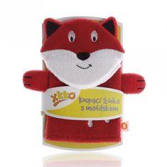XKKO Rękawica kąpielowa z lalką - Fox