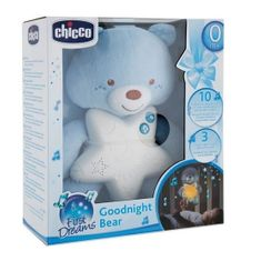 Chicco Medved lahko noč žareč medved, modre barve