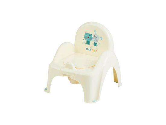 Tega Baby Biliárd szék kutya és macska dallammal - sárga