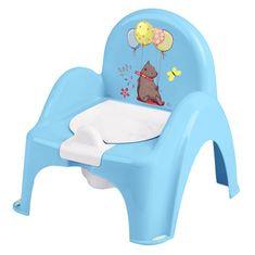 Tega Baby Lončarski stol Gozdna pravljica modra