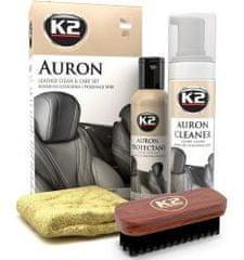 K2 K2 AURON LEATHER CLEAN & CARE SET - čistící sada k čištění kůže