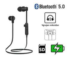 Platinet PM1062B brezžične športne slušalke, črne