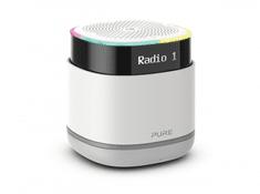 Pure StreamR radio, belo-siv