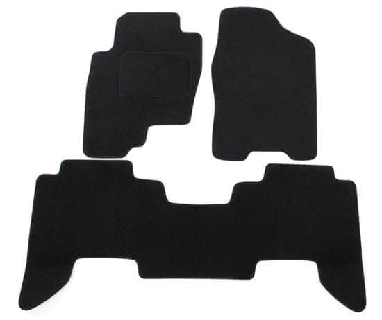 J&J Automotive Textilszőnyegek Nissan Pathfinder 2005-2012 4db