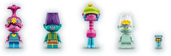 LEGO Trolls 41255 Zabava v Popikovu