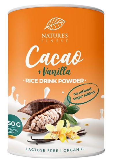 Nature's finest Bio Rice drink powder-Cacao&Vanilla