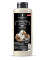 Kozmetika Afrodita šampon za lase in telo, kokosovo mleko, 1000 ml