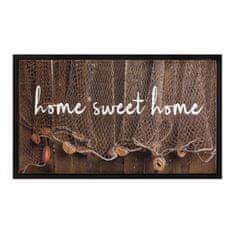 FLOMA Vnitřní čistící vstupní rohož Image Home Sweet Home - délka 45 cm a šířka 75 cm