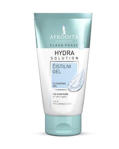 Kozmetika Afrodita Clean Phase čistilni gel Hydra, 150 ml
