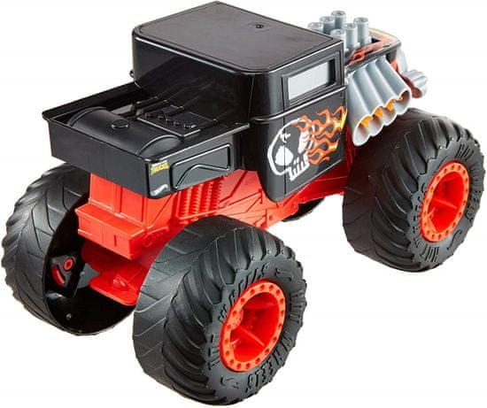 Hot Wheels Monster trucks Velké nesnáze Bone shaker