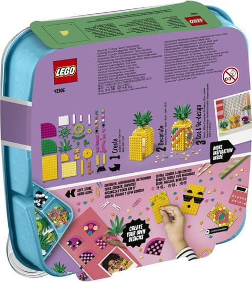 LEGO držalo za pisala v obliki ananasa DOTS 41906