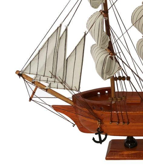 DUE ESSE Loď model plachetnice USS CONSTITUTION, 33 cm - rozbaleno