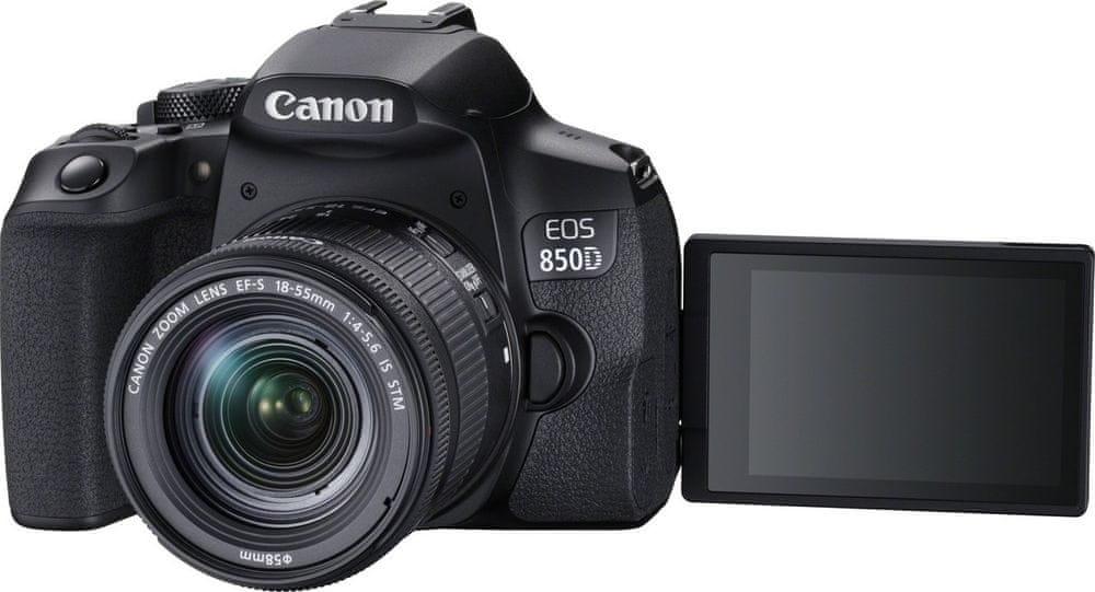 Canon EOS 850D + 18-55 IS (3925C002) + Cashback 2600 Kč!