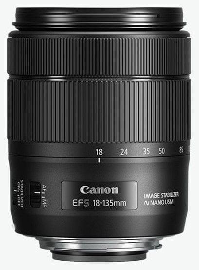Canon EOS 850D + 18-135 IS USM (3925C020) + Cashback 2600 Kč!