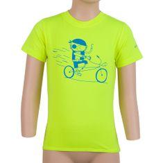 Sensor Dziecięca koszulka Coolmax Fresh PT Pirate 150 żółta
