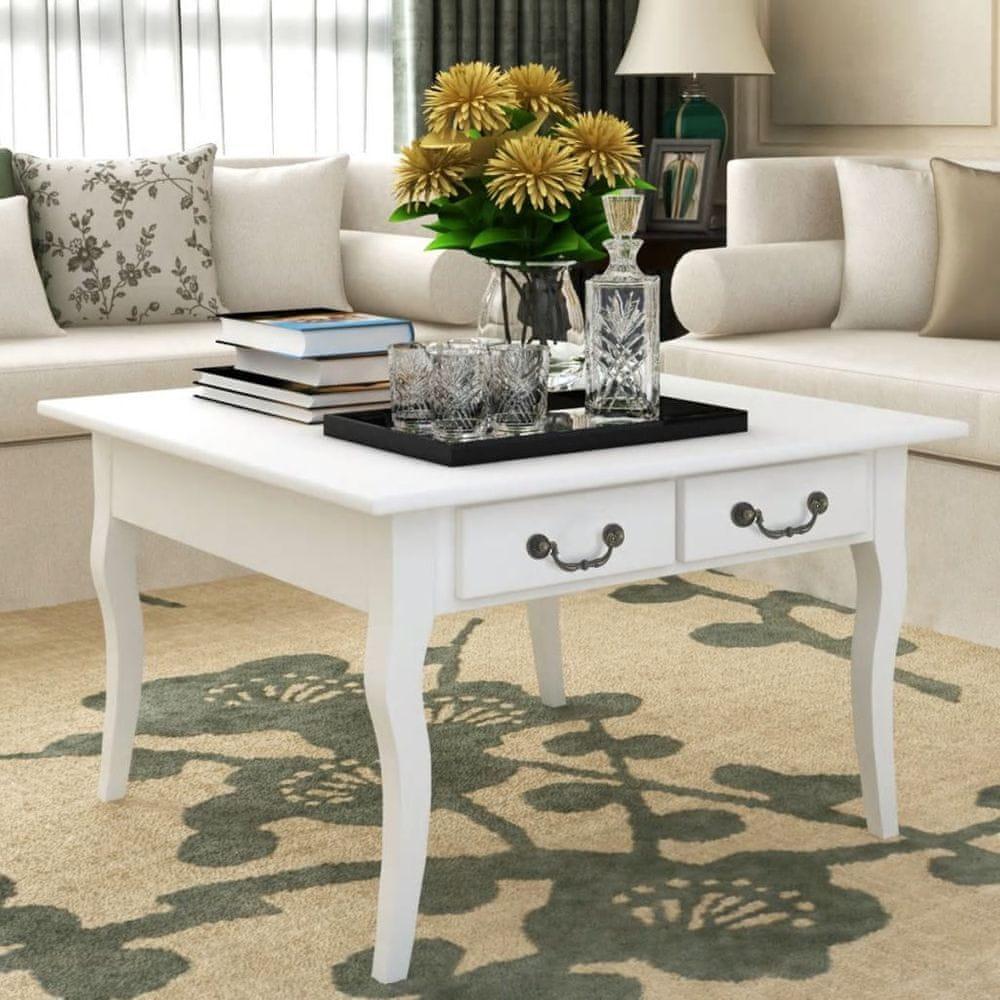 Konferenční stolek Acate bílý