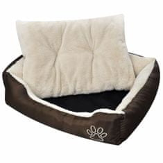 shumee Udobna pasja postelja z mehko blazino S