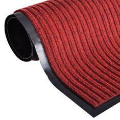 shumee Červená rohožka z PVC, 90 x 60 cm