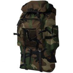 shumee Plecak XXL w wojskowym stylu, 100 L, moro