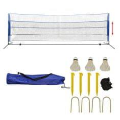 shumee Komplet mreže za badminton s perjanicami 500x155 cm