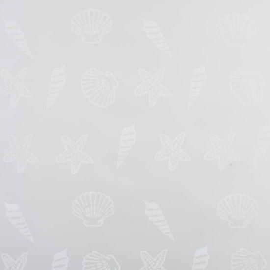 shumee Roleta prysznicowa 140 x 240 cm, wzór w rozgwiazdy