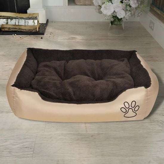 shumee Udobna pasja postelja z mehko blazino M