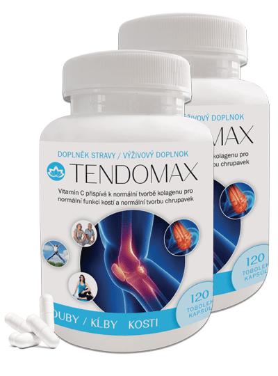Novax 2x Tendomax - pre podporu pohybového aparátu 2x120 kapsúl