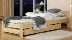 Importworld Dřevěná postel Viktor 90x200 + rošt ZDARMA - borovice