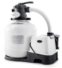 Intex 26680 Krystal clear pískový filtr s čerpadlem a solinátorem