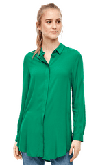 Q/S designed by dámská košile 41.002.11.8503 34 zelená
