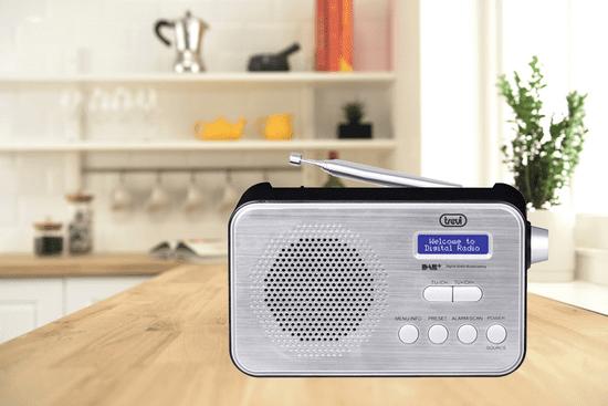 Trevi 7F92R prenosni digitalni radio, DAB, DAB+, FM