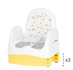 Badabulle Przenośne krzesło HOME&GO białe