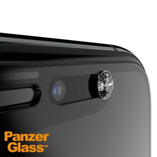 PanzerGlass Edge-to-Edge Privacy pro iPhone X/Xs/11 Pro černé Swarovski CamSlider (P2680)