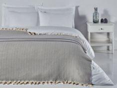 Denizli Concept Cienka narzuta na łóżko BALIKSIRTI kolor jasnoszary 200x240 cm.