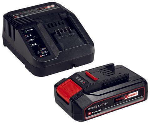 Einhell baterija in polnilec Starter-Kit Power-X-Change 18V 2.5 Ah (4512097)