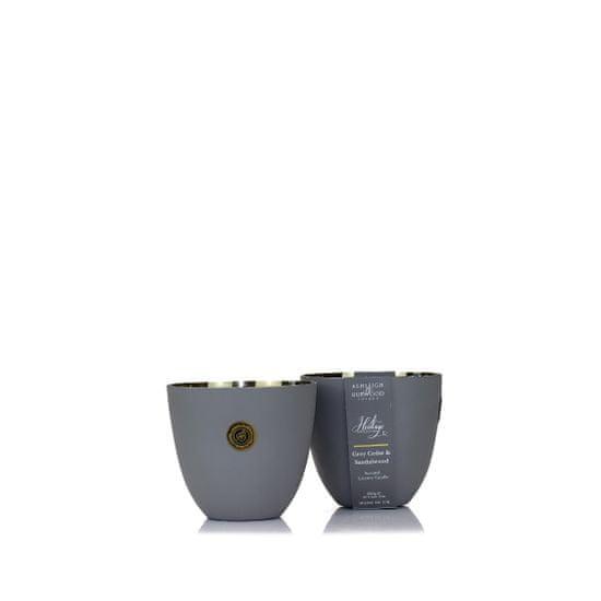 Ashleigh & Burwood Vonná sviečka THE HERITAGE COLLECTION - GREY CEDAR & SANDALWOOD (sivý céder a santalové drevo), 250 g