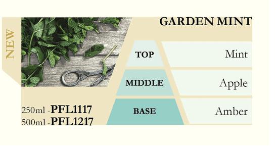 Ashleigh & Burwood Náplň do katalytické lampy GARDEN MINT (zahradní máta) 500 ml