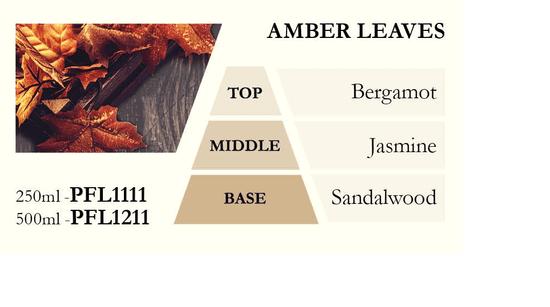 Ashleigh & Burwood Polnilo za katalitično svetilko AMBER LEAVES (jantarni listi), 500 ml