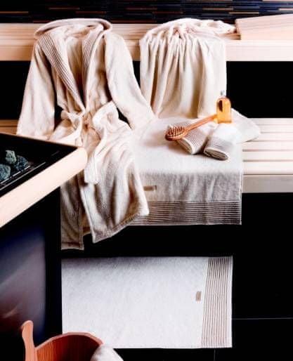 Möve Brisača WELLNESS z naravnim ženilom 50x100 cm