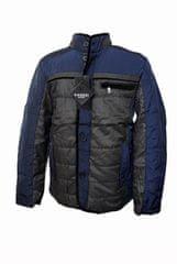 Vanzzi Moška prehodna elegantna jakna - modra - XL