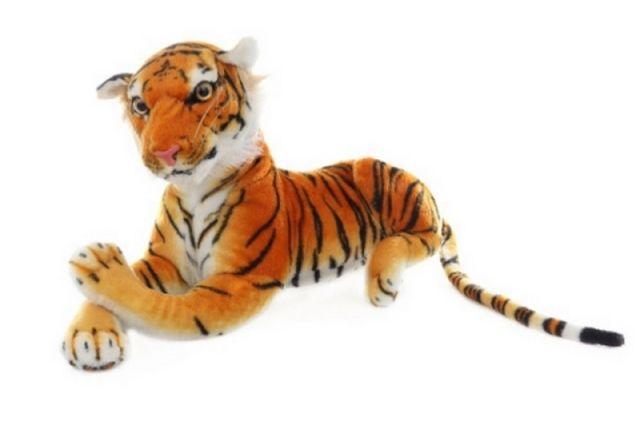 Lamps Plyš Tygr hnědý 50 cm