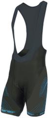 Sensor Cyklo Team Up pánské kalhoty krátké se šlemi černá/modrá -M