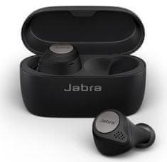 Jabra Elite Active 75t brezžične slušalke, Bluetooth, črne