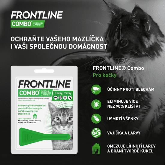 Frontline Combo spot on Cat 0,5 ml
